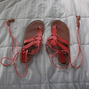 AEO lace up sandals